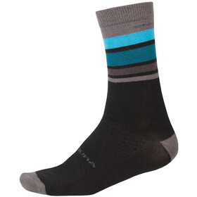 Endura BaaBaa Merino Stripe Socks Men black